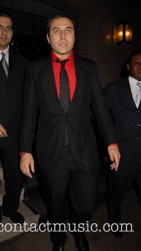 David Walliams,  leaving George Michael's 44th birthday...