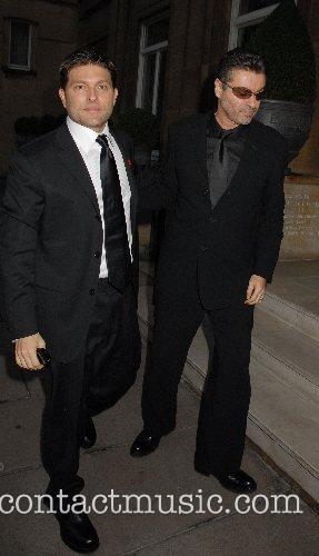 George Michael and Kenny Goss,  leaving George...