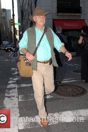 Gerald McRaney out and about in Midtown Manhattan...
