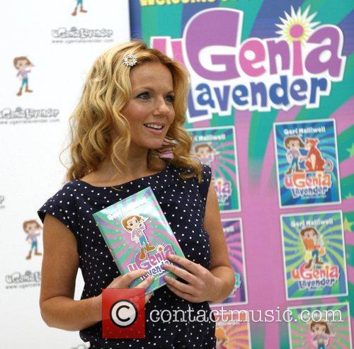 Geri Halliwell signs copies of her new book...