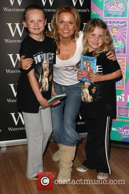 Geri Halliwell signs copies of her book UGenia...