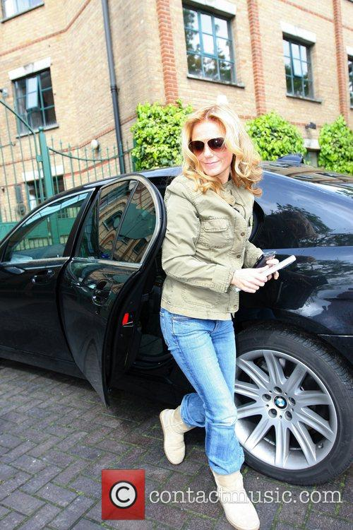 Arrives at LBC radio station