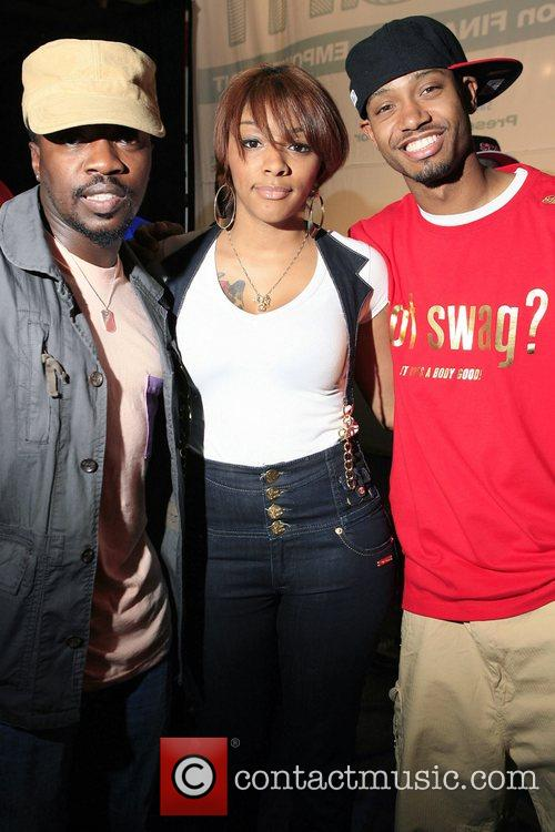 Anthony Hamilton, Cherri Dennis and Terrence J 4