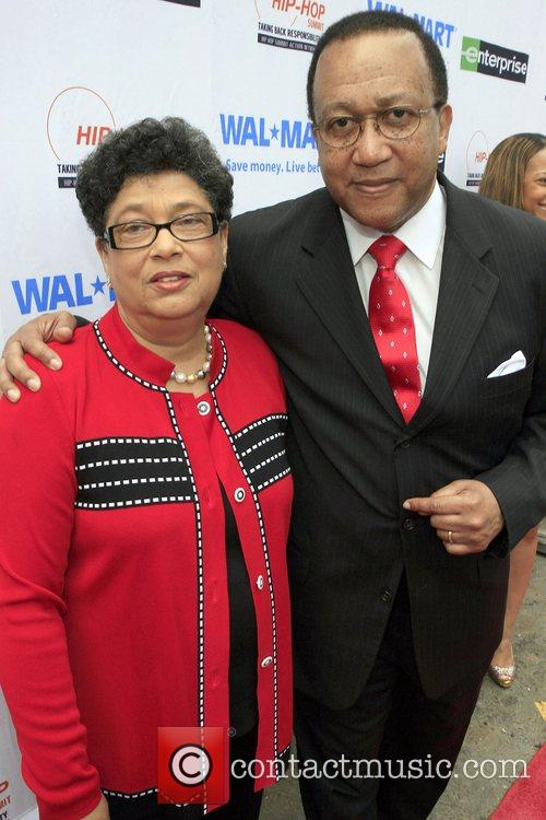 Dr. Ben Chavis Muhummad and Dr. Dorothy Cowser...