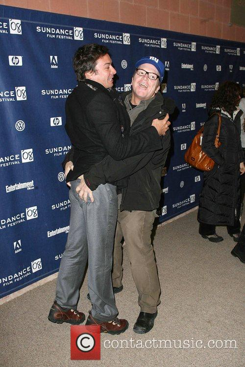 Jimmy Fallon and Tom Arnold 4