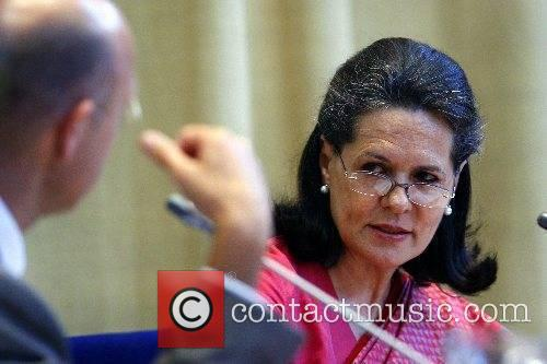 Sonia Gandhi, Mainoat, President of the Indian National...