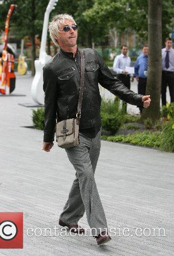 Paul Weller arrives for the Gibson Guitar Town...