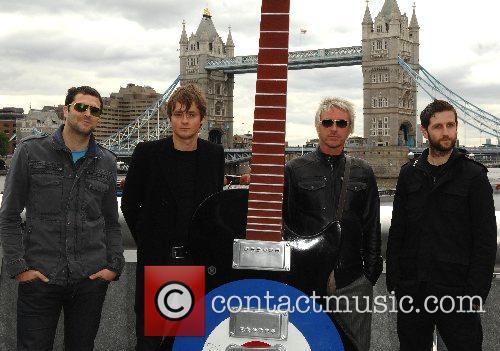 Paul Weller and Keane Gibson Guitar Town launch...