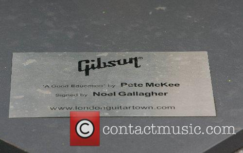 Gibson Guitar Town launch party London, England