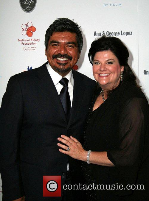 George Lopez and wife Ann Lopez 29th Annual...