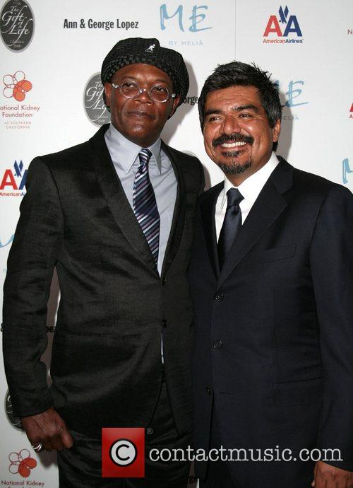 Samuel L Jackson and George Lopez 29th Annual...