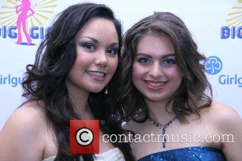 Samantha Laurilla and Isabella Stocchetti winners of the...