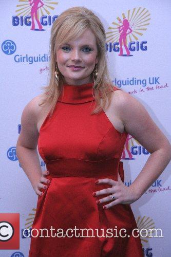 At the annual 'Girlguiding UK Big Gig' --...
