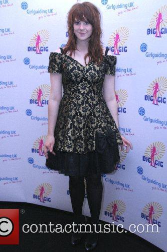 Kate Nash at the annual 'Girlguiding UK Big...