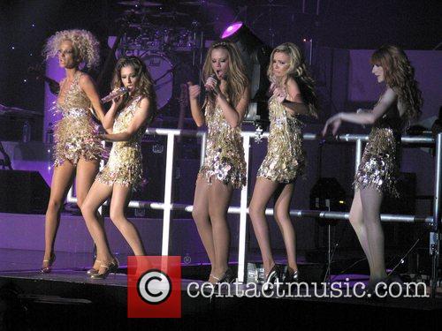 Girls Aloud, Nadine Coyle, Nicola Roberts and Sarah Harding 5