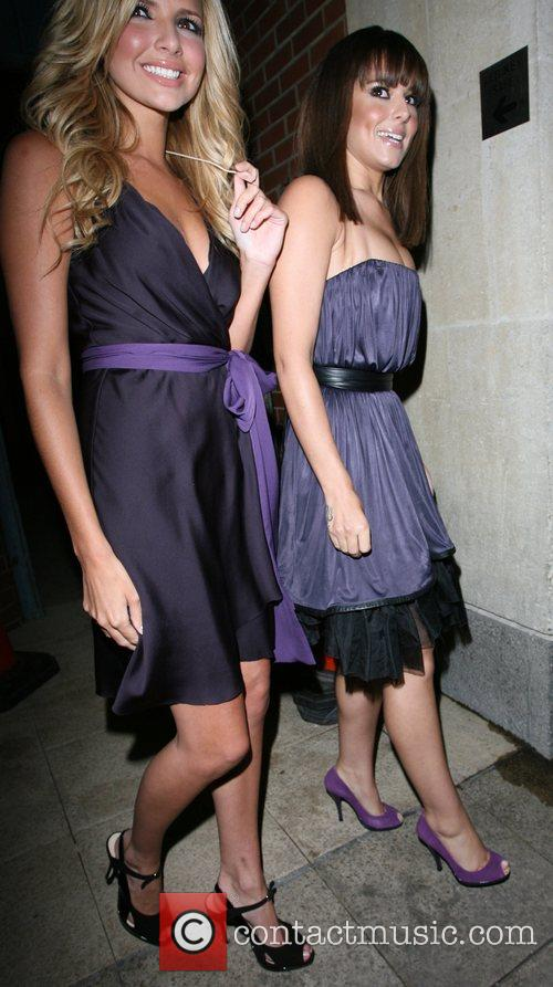 Nadine Coyle and Cheryl Cole 10