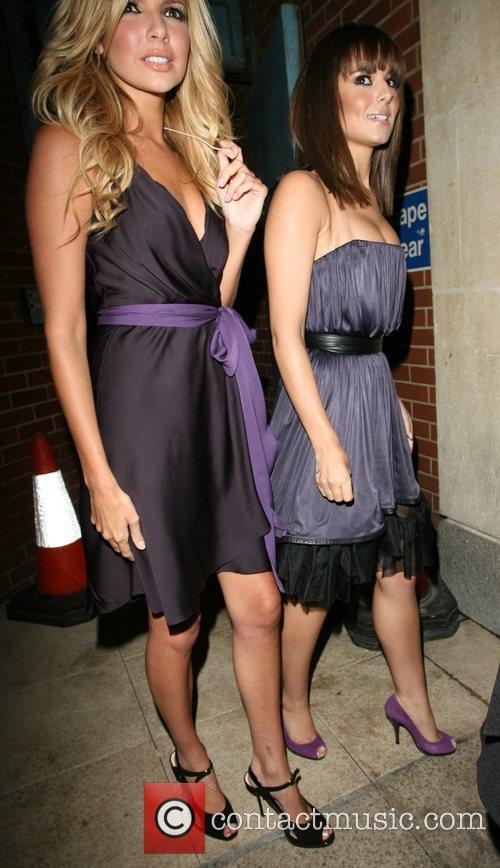 Nadine Coyle and Cheryl Cole 4