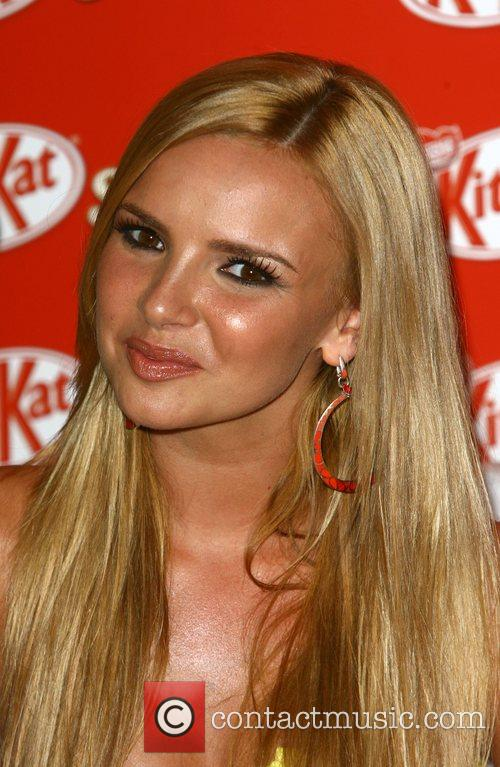 Nadine Coyle of Girls Aloud At the launch...