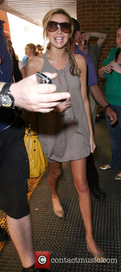 Nadine Coyle  arriving at the Brighton Centre...