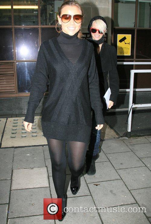 Girls Aloud leave Radio One.