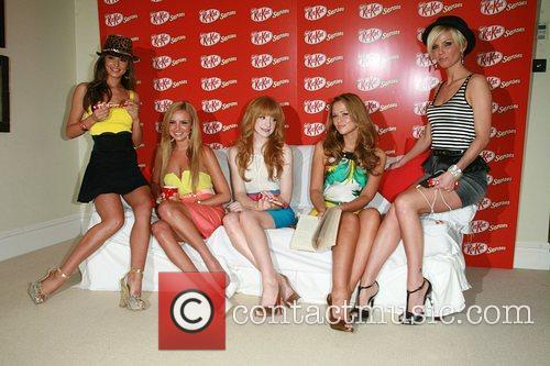 Girls Aloud Launch the new KitKat Senses chocolate...