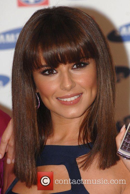 Cheryl Cole Girls Aloud launch the Samsung F210...