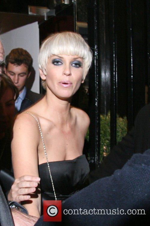 Sarah Harding leaving Sketch nightclub London, England