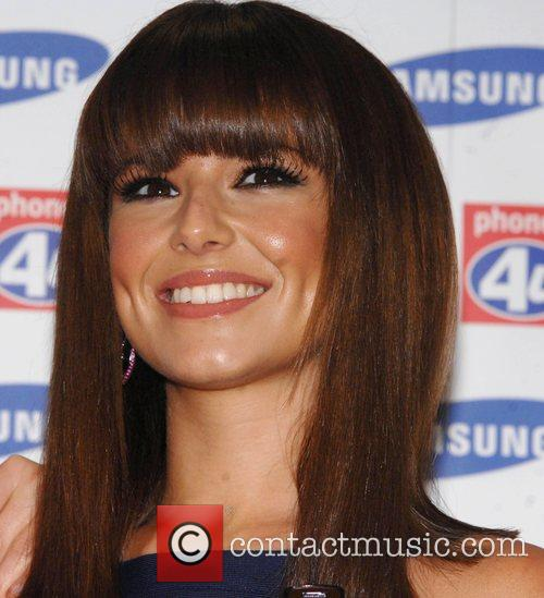 Girls Aloud launch the Samsung F210 Purple at...