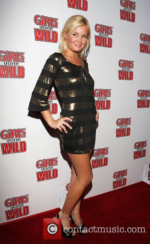 Amber Hay Girls Gone Wild magazine launch party...