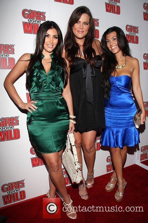 Kim Kardashian, Khloe Kardashian and Kourtney Kardashian 3