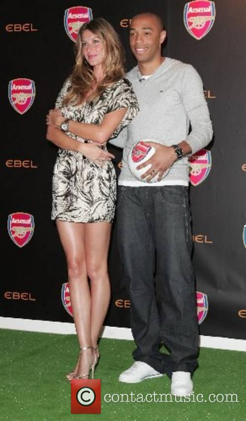 Supermodel and Ambassador for Ebel, Gisele Bundchen poses...