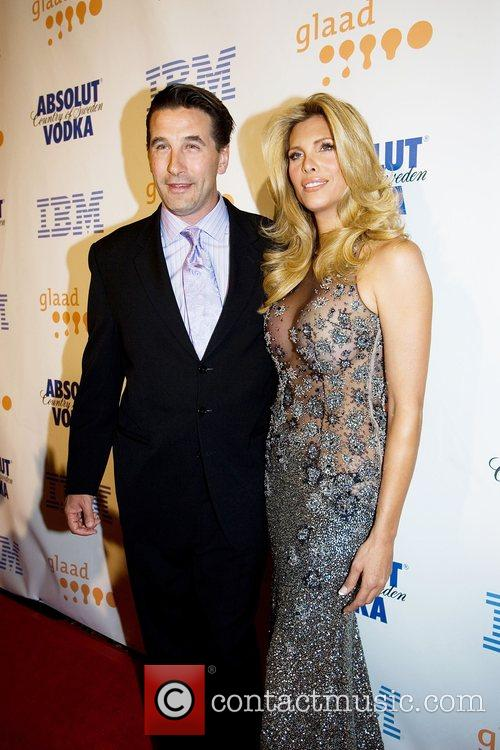 Billy Baldwin and Candis Cayne GLAAD Media Awards...