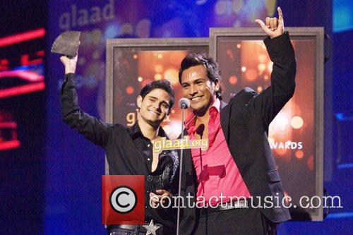 Pablo Portillo and Alonso Espeleta GLAAD Media Awards...