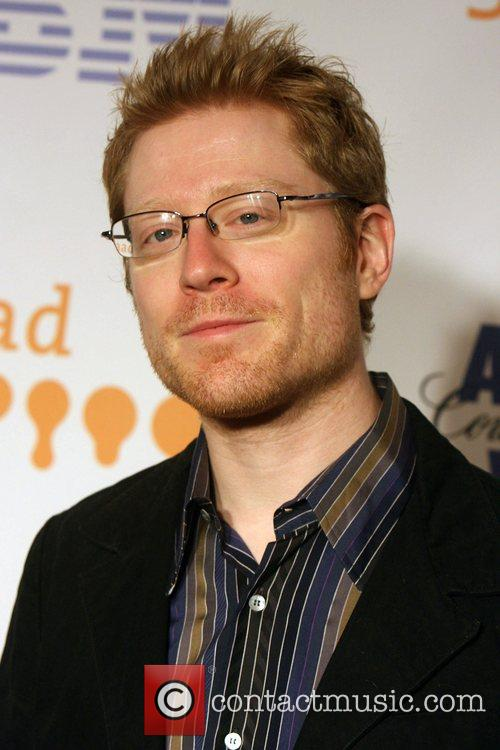 Anthony Rapp and New York Marriott Marquis 2