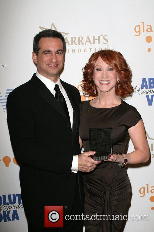 President Neil Giuliano and Kathy Griffin GLAAD Media...