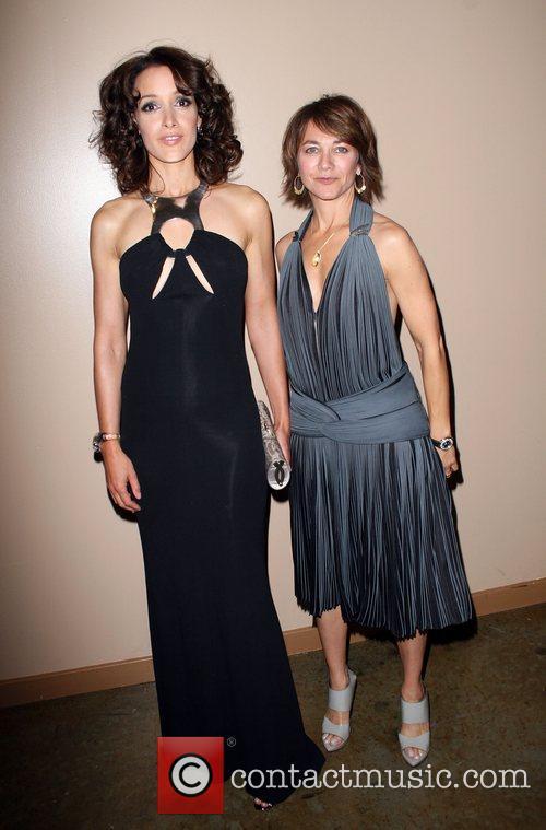 Jennifer Beals and Ilene Chaiken