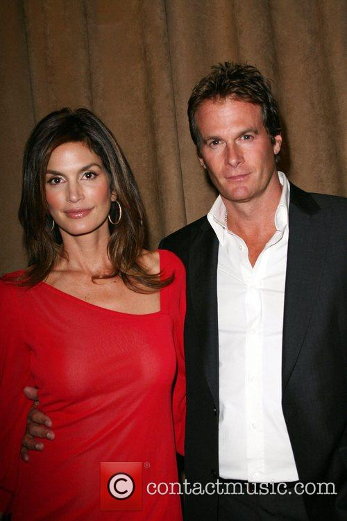 Model Cindy Crawford and husband Rande Gerber