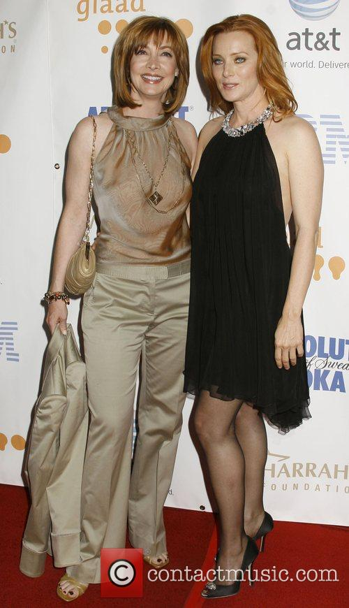 Sharon Lawrence and Angela Featherstone 19th Annual GLADD...