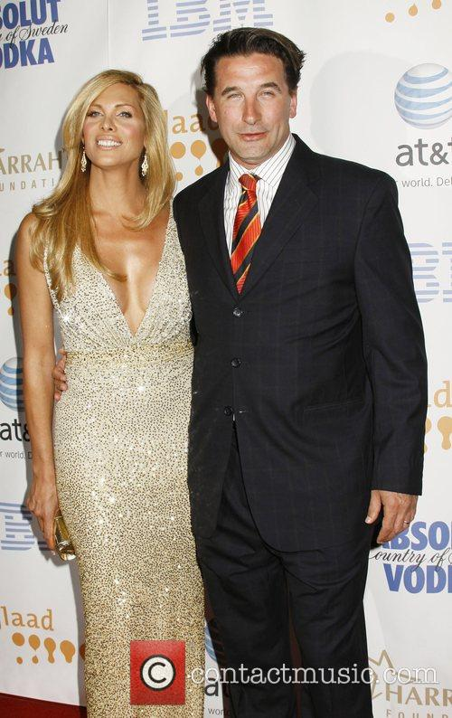 Candis Cayne and William Baldwin 19th Annual GLADD...