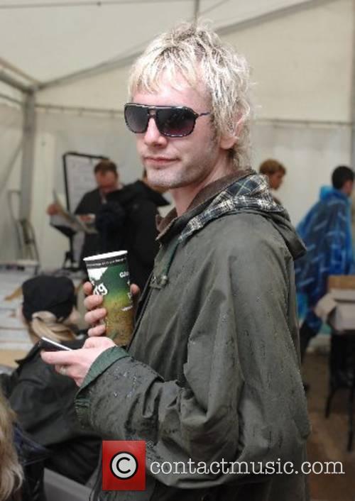 Donny Tourette  at the 2007 Glastonbury Festival...