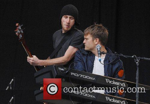 Cold War Kids  2007 Glastonbury Festival day...