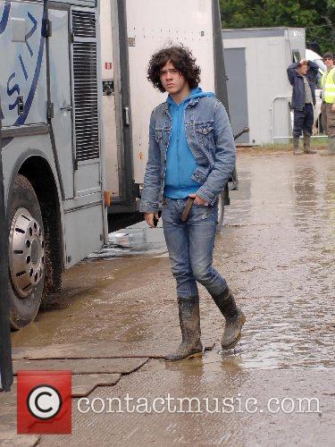 The View lead singer 2007 Glastonbury Festival day...