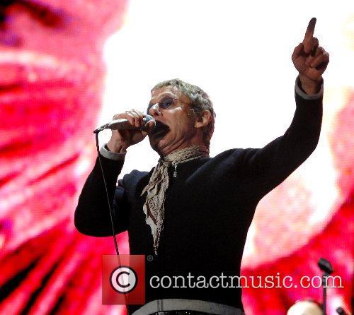 Roger Daltrey of The Who 2007 Glastonbury Festival...