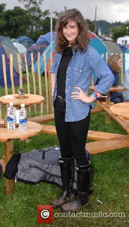 Candie Payne at the 2007 Glastonbury Festival at...
