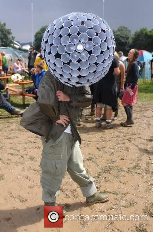The 2007 Glastonbury Festival at Worthy Farm, Pilton...