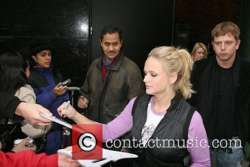 American country singer Miranda Lambert leaving ABC Studios...
