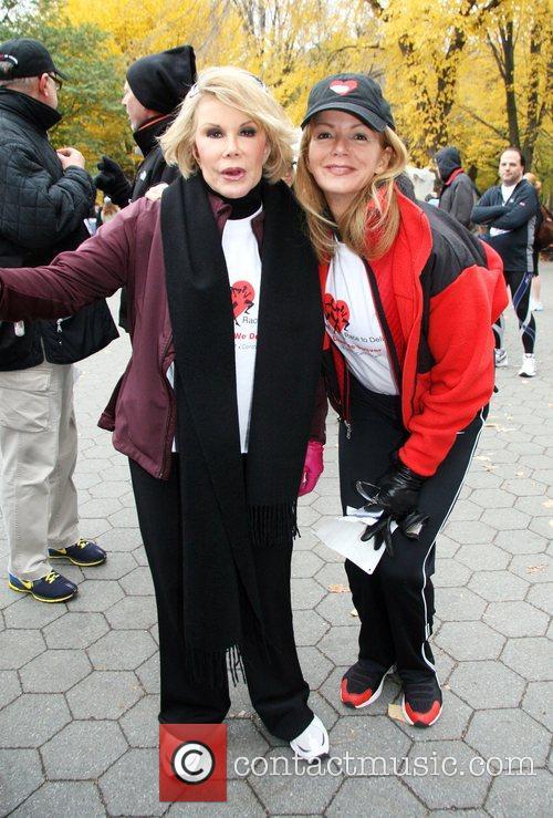 Joan Rivers and Blaine Trump 1