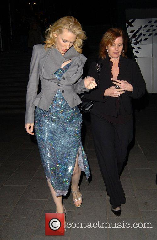 Cate Blanchett leaving the after party for the...