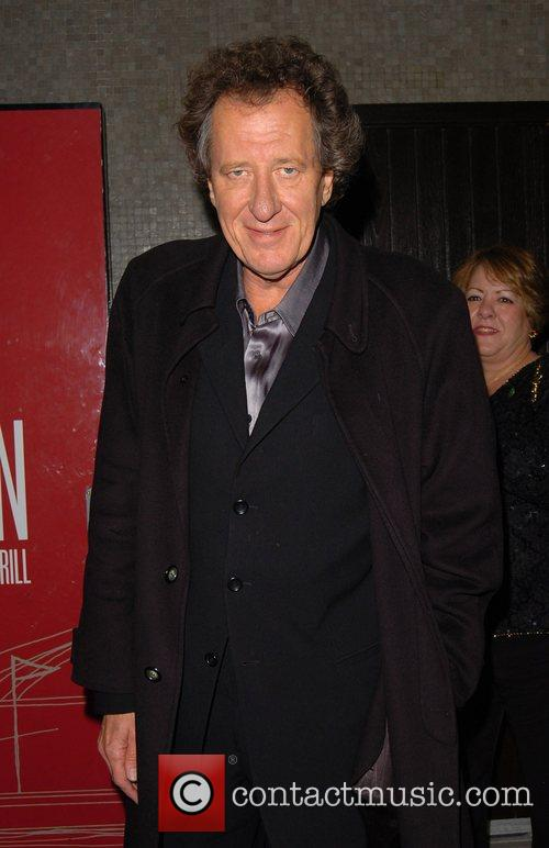 Geoffrey Rush leaving the after party for the...