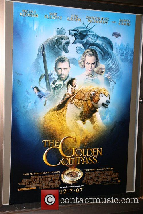 New York premiere of 'The Golden Compass' at...
